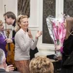 Mme Nicole Tordjman et Mme Hélène de Rochefort congratulent nos merveilleux musiciens