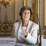 Mme Dominique de La Garanderie,  Ancien Bâtonnier de Paris, Membre du Haut Comité au Gouvernement