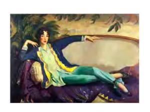 Gertrude Vanderbilt Whitney, 1916, Robert Henri