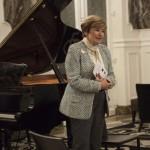 Accueil par Nicole Tordjman, Vice-Présidente de france-Amériques - Présidente de la Section Art & culture