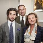 Me Emmanuel Nommick, administrateur de France-Amériques, accompagné de son épouse et de leur fils
