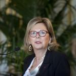 Mme Brigitte Longuet, Présidente de la Fédération Femmes Administrateurs