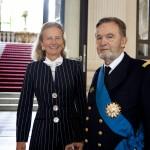 Cérémonie en l'honneur de l'amiral Jean Betermier