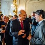 A gauche, M. Philippe Delleur, Directeur international d'ALSTOM, et S. Exc. M. Paulo Cesar de Oliveira Campos, Ambassadeur du Brésil en France