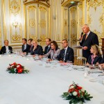 Dîner en l'honneur de S. Exc. M. Gérard Araud, Ambassadeur de France aux Etats-Unis