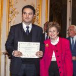 Alexandre Kazerouni et Nicole Tordjman, Vice-Présidente et Présidente de la Section Art & culture de France-Amériques