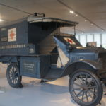 Ambulance de l'American Field Service, Voiture Ford T, 1917