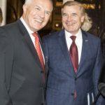 Monsieur Jean-Luc FOURNIER, Président du Cercle France-Amériques et Monsieur D. Brent HARDT, Chargé d'Affaire a.i. de l'Ambassade des Etats-Unis  ©Vincent Baillais