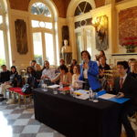 Membre du Jury (de g. à d.): Claudine MELLON, Jany CAMPELLO, Nathalie BERA-TAGRINE et Kazurou OI