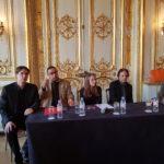 Membre du Jury (de g. à d.) : Tristan PFAFF, Emmanuel NOMMICK, Véronique BONNECAZE, François KERDONCUFF et Vittorio FORTE