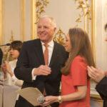 Jean-Luc FOURNIER, Président de France-Amériques, et Véronique BONNECAZE, Présidente du Jury