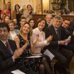 Membres du Jury (de g. à d.) : Kazurou OI, Jany CAMPELLO, Claudine MELLON, Eugen INDJIC et Emmanuel NOMMICK