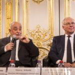 (de g. à d.) Son Excellence Monsieur Guillermo Dighiero, Ambassadeur de l'Uruguay en France et Thierry Girard, Directeur développement international de NGE Contracting