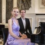 Récital de piano à quatre mains avec Tristan Pfaff et Justyna Chmielowiec.