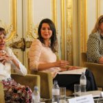 De g. à d. : Denise Silber, Nada Nadif et Marie-Pascale Chague
