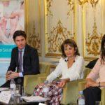De g. à d. : Aubin Lapos, Denise Silber et Nada Nadif