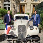 Henri-Jacques Citroën & Aubin Gonzalez Lapos à France-Amériques
